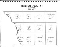 Benton County Code Map, Benton County 1983